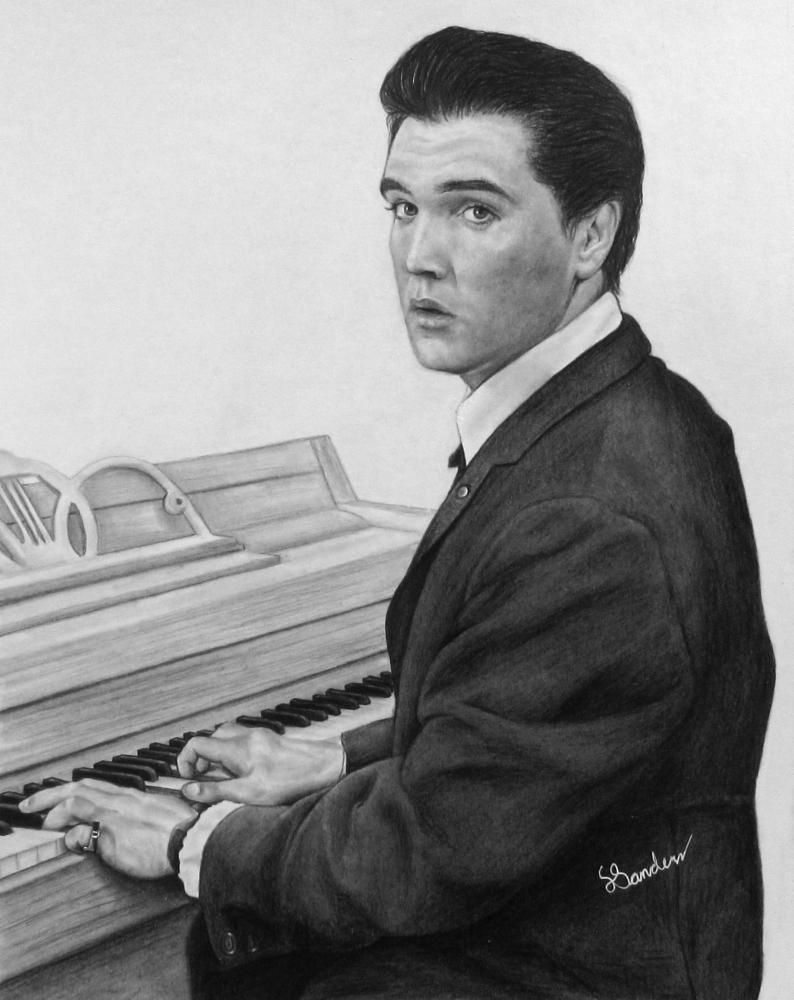 Elvis Presley by lcsanders